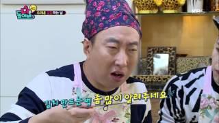 """[kbs world] 나를 돌아봐 - 잭슨, 김수미 집밥 폭풍먹방 """"신기해"""" 20151204"""