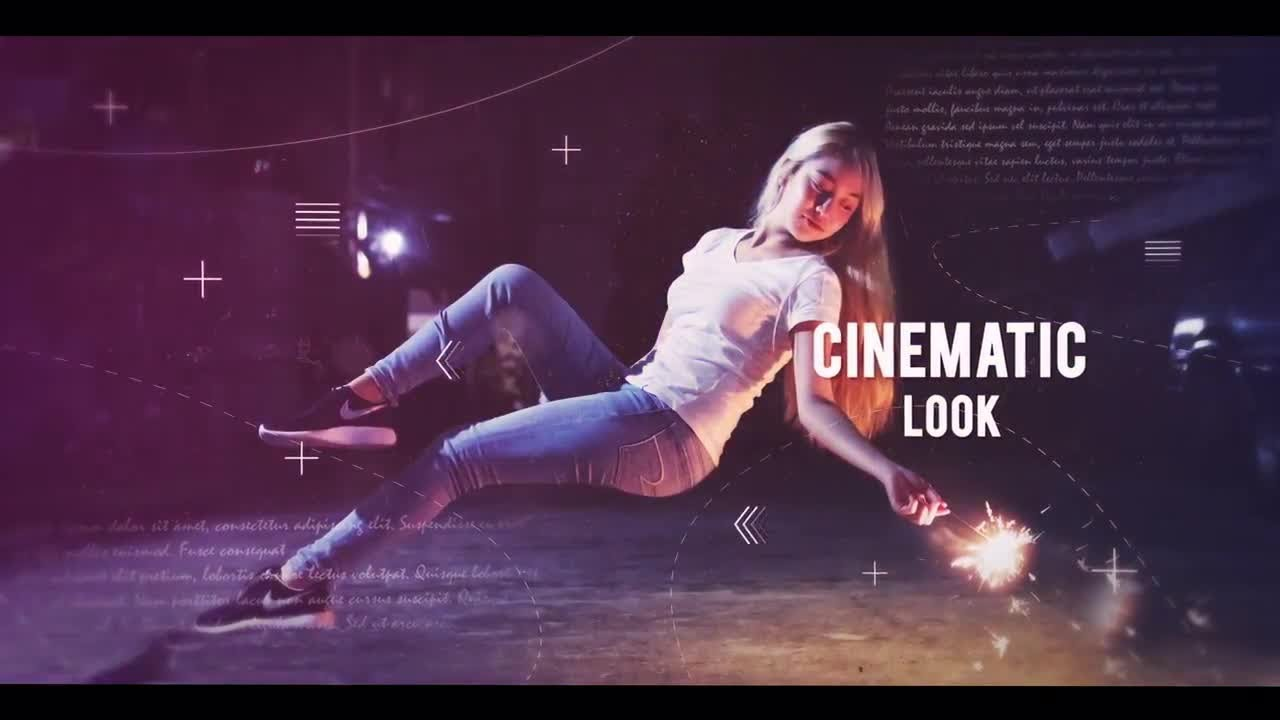 cinematic parallax slideshow after effects templates - youtube, Presentation templates