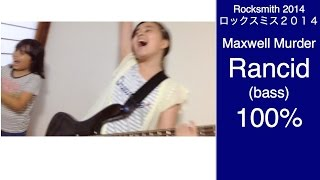 Here is Audrey (12) playing Rocksmith. It's Maxwell Murder - Rancid...