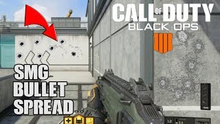 Call of Duty Black Ops 4- SMG Bullet Recoil Patterns and Spread