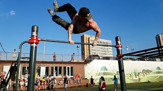Street Workout Frestyle Bar #51, Swing 900, Swing 720, Supra 540, Super 540,Variations Combos
