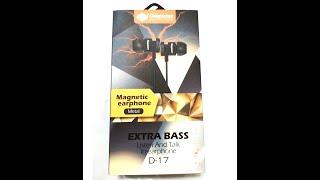 Розпакування та огляд недорогих і якісних навушників Deepbass D-17