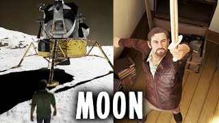 A Way Out - Easter Eggs / Going to the Moon / Every Trophy & Achievement