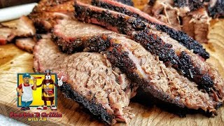 Smoked Brisket with BZQUE - Injection vs Non Injection