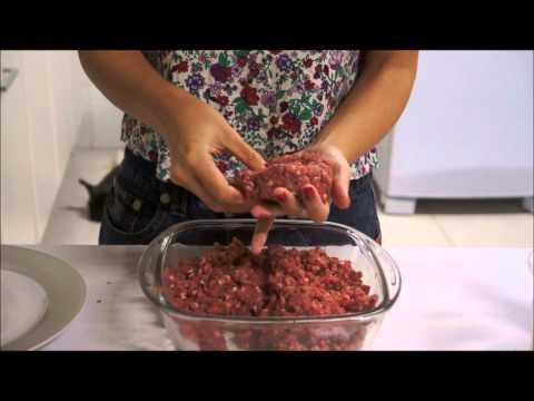 como fazer hamburger em casa - o melhor que voce ja comeu!