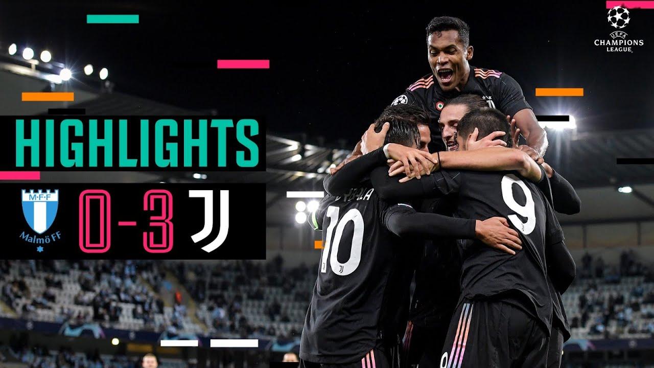 Download Malmö 0-3 Juventus   Alex Sandro,Dybala & Morata Secure away Win!   Champions League Highlights