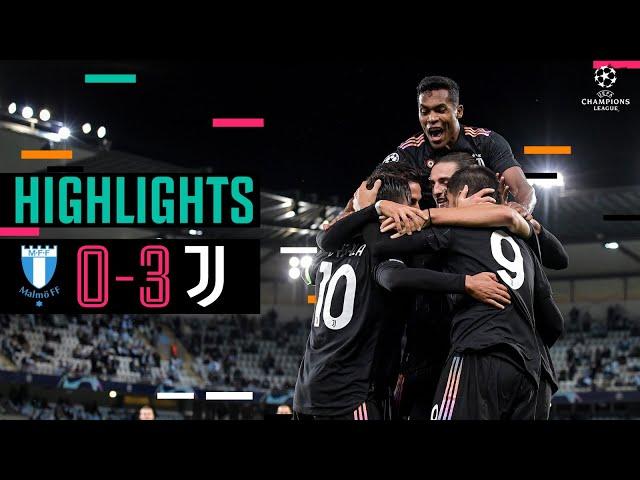 Malmö 0-3 Juventus | Alex Sandro,Dybala & Morata Secure away Win! | Champions League Highlights
