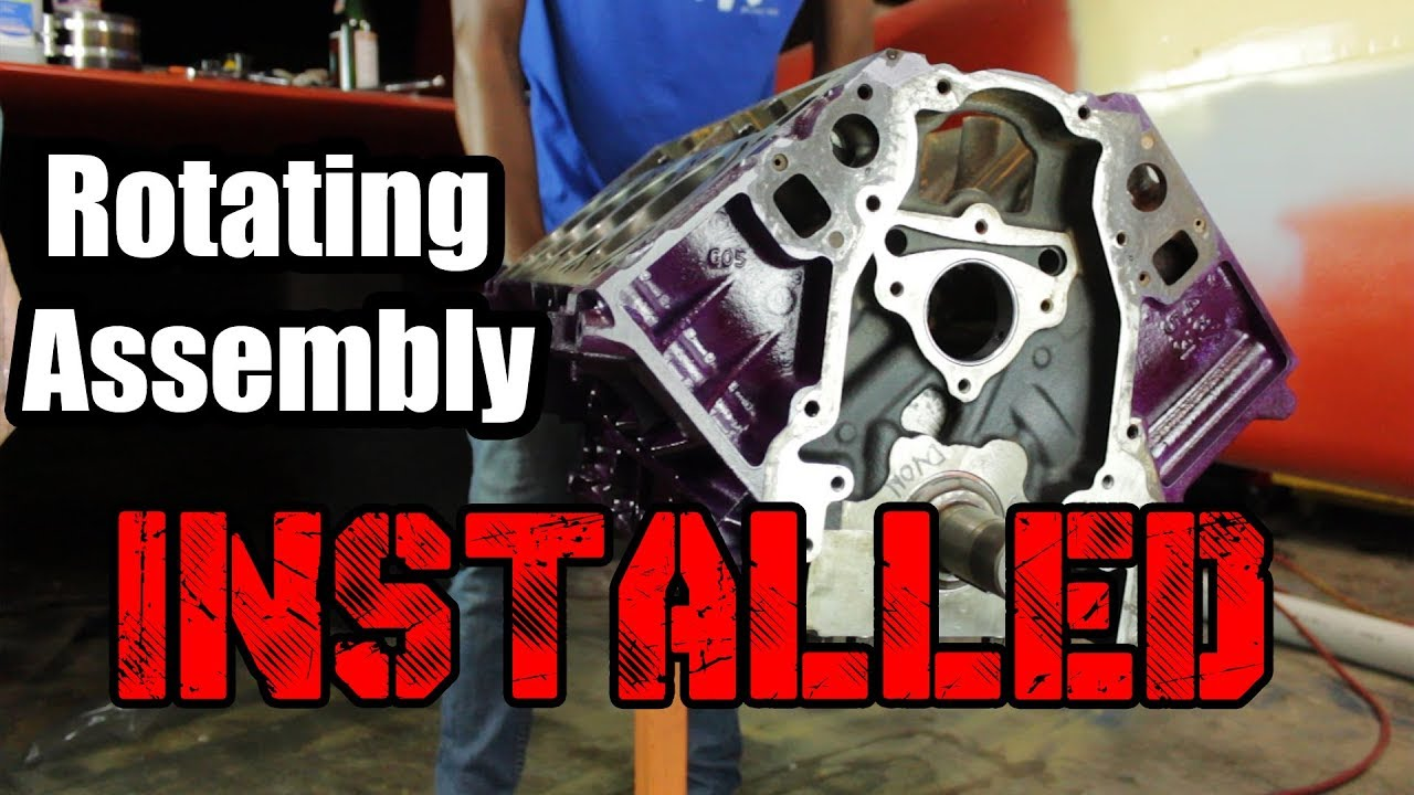 5 3 LS Bottom End Assembly - The 500hp Budget Build Part 7
