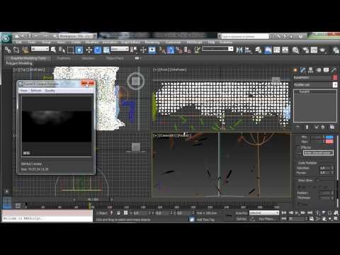 Creating Falling Debris in 3D Studio Max
