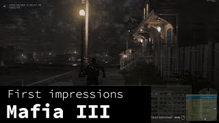 Mafia III - thoughts after beating the game