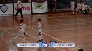 186 SUB 8 CAAS FUTMAX X CLUBE DE CAMPO
