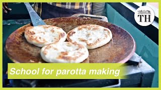 Chef opens school for parotta making