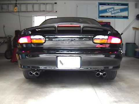 2001 Camaro Ss W Slp Loudmouth Exhaust
