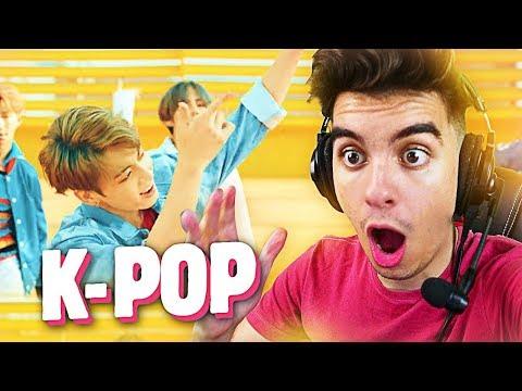 REACTING TO KPOP!! (BTS DNA)