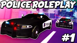 "Ultimate Driving Police Patrol #1: ""Learning The Ropes!"" (Roblox Police Roleplay)"
