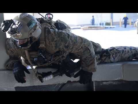 Force Recon Marines, British Royal Marines, and Navy EOD Conduct VBSS On Board USS Frank Cable