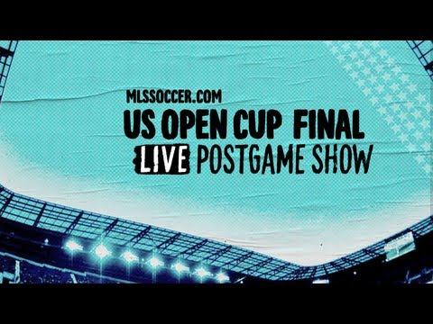 MLSsoccer.com's U.S. Open Cup Final Live Postgame Show