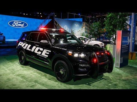 Ford Police Interceptor Utility Hybrid Revealed