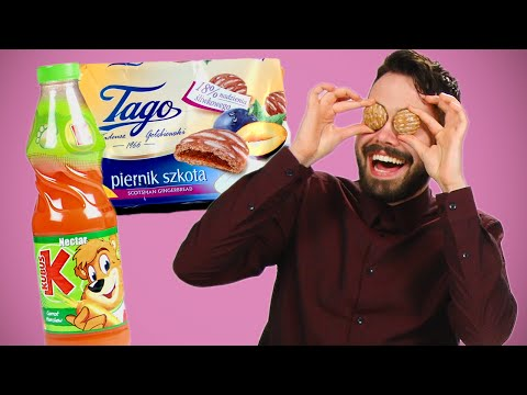 Irish People Taste Test Polish Snacks