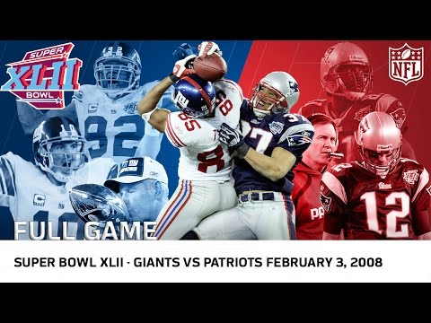 Giants Upset Undefeated 2007 Patriots | Super Bowl XLII | NF