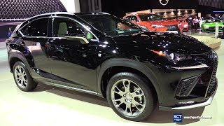 2019 Lexus NX 300 F Sport - Exterior and Interior Walkaround - 2019 New York Auto Show