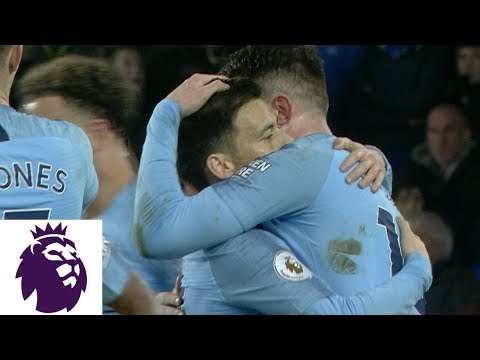 Man City pulls in front of Everton with Aymeric Laporte header | Premier League | NBC Sports