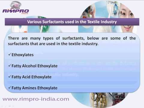 Surfactants Chemistry for Hygiene and Personal Care Products