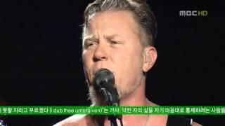 Концерт  LIVE  HD Metallica The Unforgiven @ Seoul 2006 Музыкальное Оборзение
