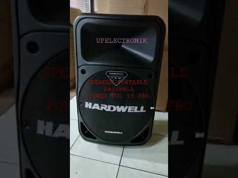 Download Speaker Portable HARDWELL POWER FUL 15 PRO New Edition