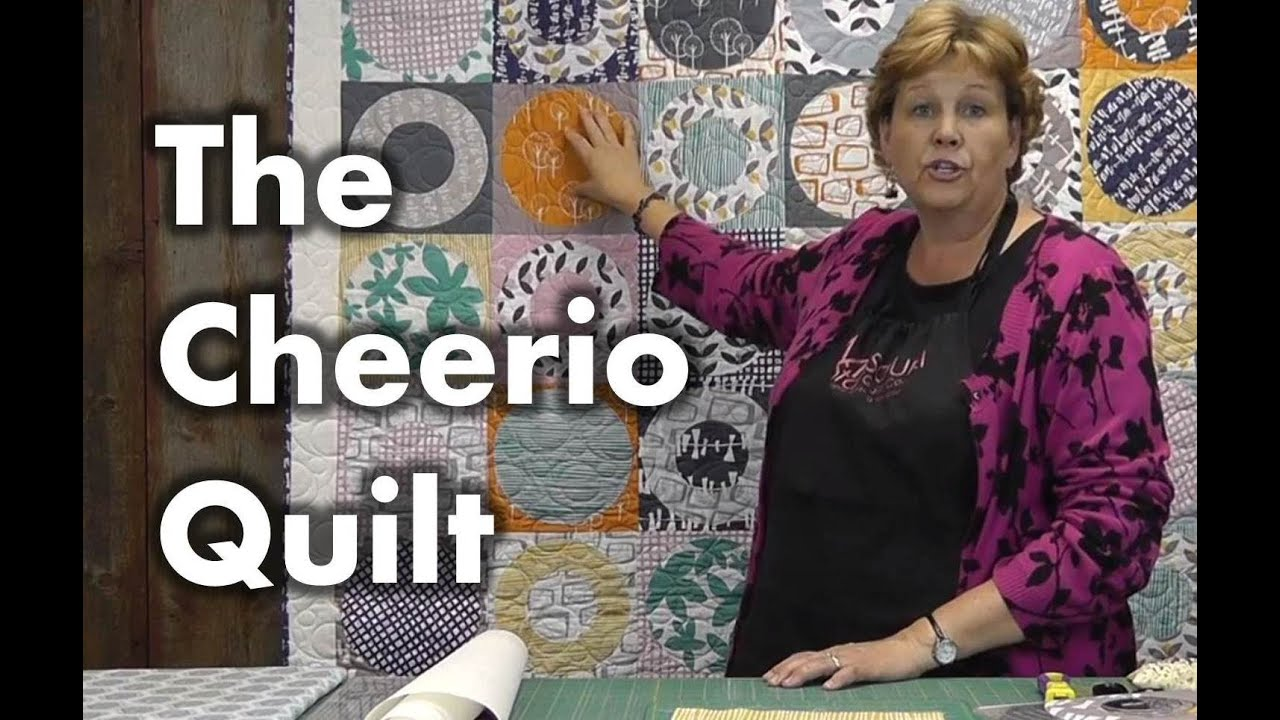 The Cheerio Quilt Quilting With Circles Youtube