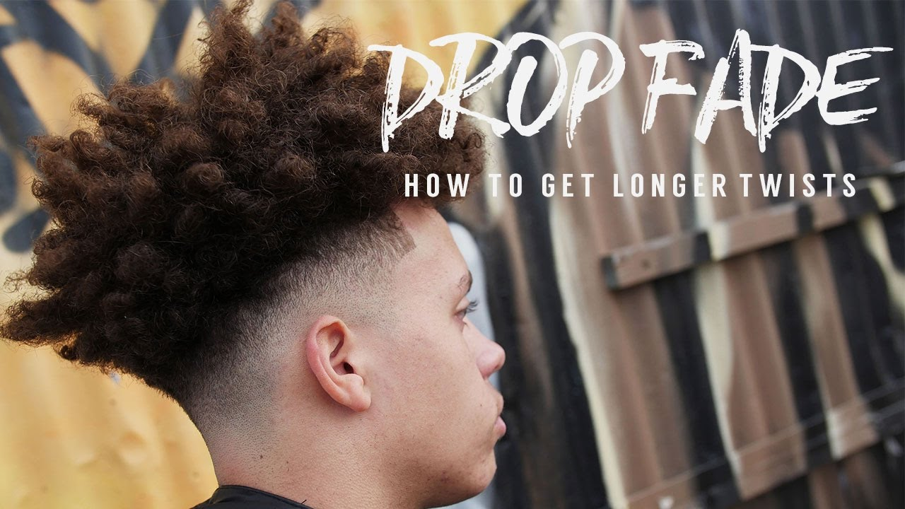 Fresh Fade How To Get Longer Twists Youtube