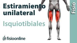 Estirar después la en de la inferior parte dolor pierna de