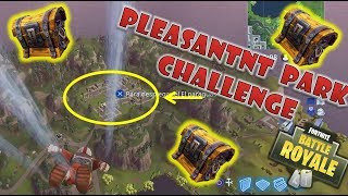 CHALLENGE PARK COFRES/HOW TO UNLOCK ITEMS OF BATTLE PASS FORTNITE BATTLE ROYALE