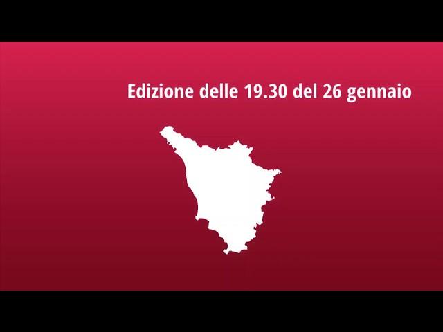 Muoversi in Toscana - Edizione delle 19.30 del 26 gennaio 2020