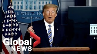 Coronavirus outbreak: Trump says government negotiating deal for workers, small businesses | FULL
