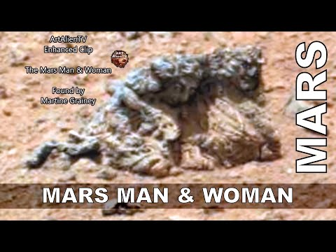 MARS MAN & WOMAN ? MUMMIFIED ALIEN COUPLE ? ArtAlienTV