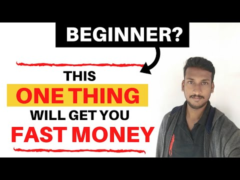 Affiliate Marketing For Beginners 2020   FOCUS on this just ONE thing to Make Passive Income thumbnail