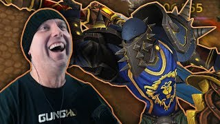 THE POWER OF FUN - Arms & Fury Warrior Rated 2v2 Arena Highlights - Legion 7.3