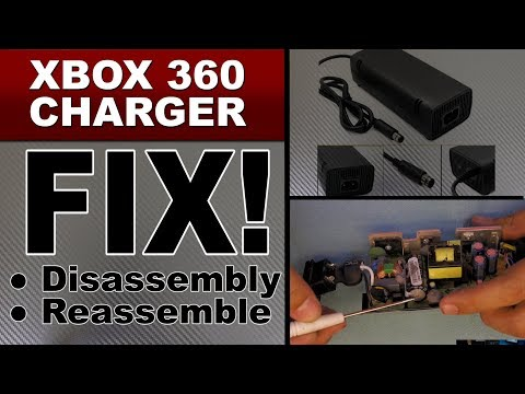 How to fix your XBOX 360 super slim charger, Xbox 360 slim POWER SUPPLY repair