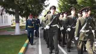 27 полк прощание со знаменем 7 июня 2016 год