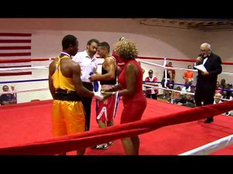 Centre Avenue Boxing   WPAL Canada vs USA 9 27 14
