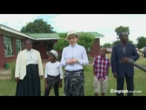 Madonna addresses critics in Malawi