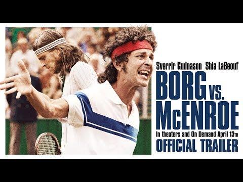 Borg vs McEnroe trailers