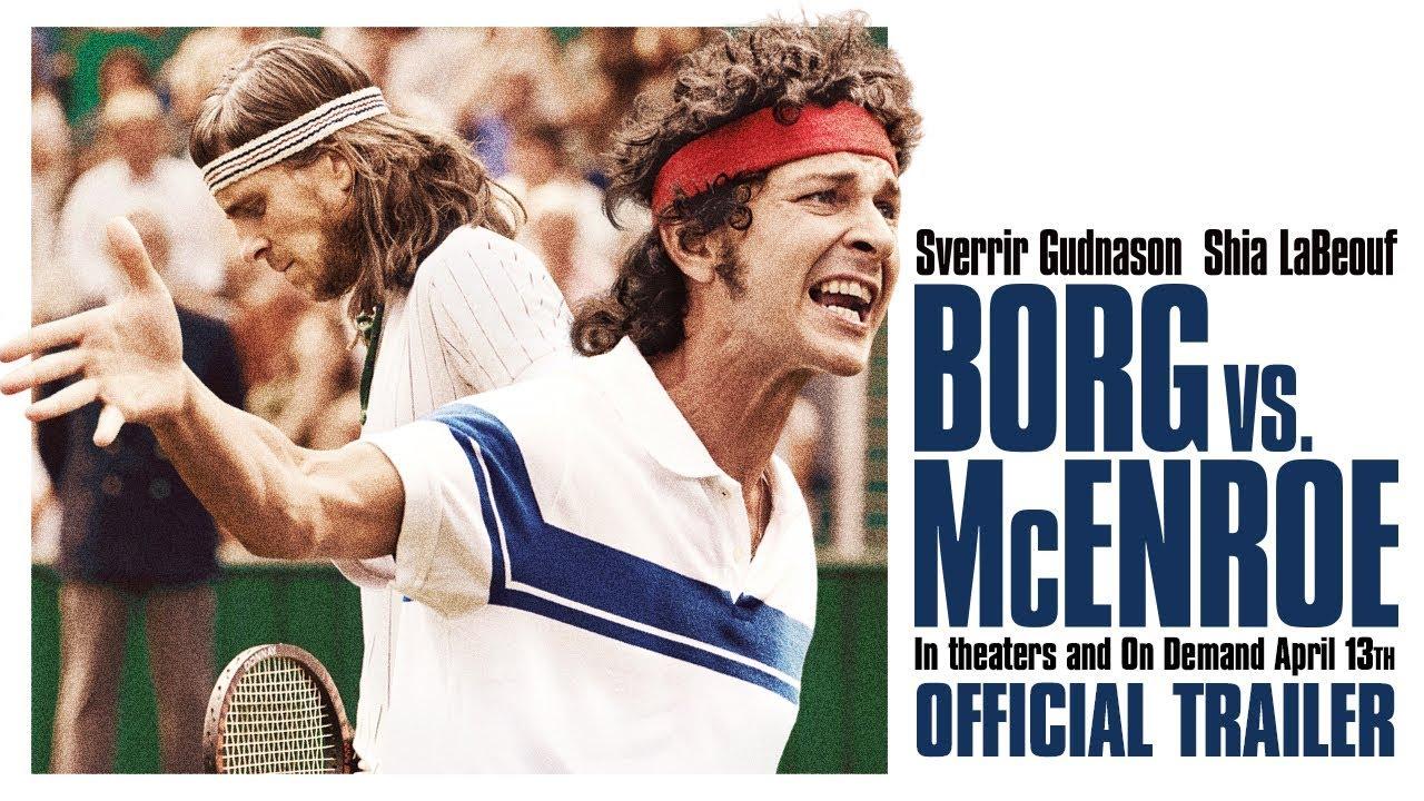 BORG VS. MCENROE [Trailer] – In theaters & On Demand 4/13