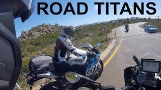 Road Titans - Touring on BMW S1000RR,  BMW K1600GT &  BMW R1200GS