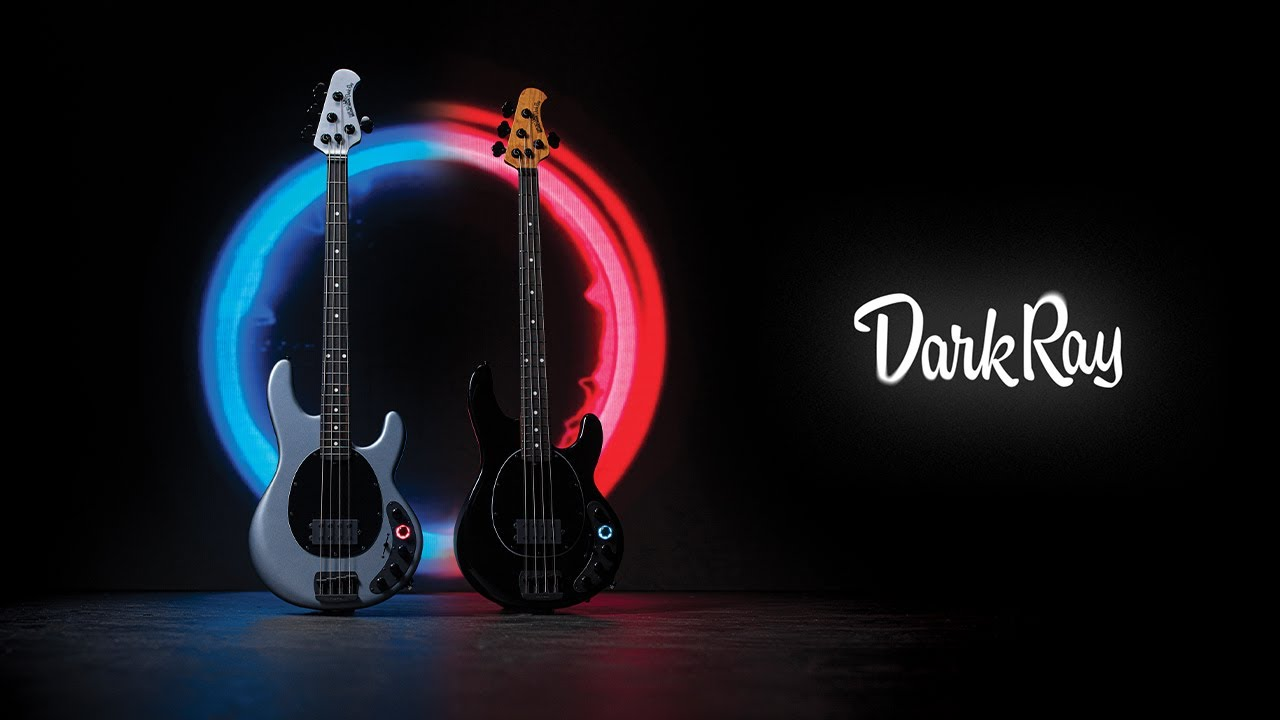 Ernie Ball Music Man: DarkRay Bass in Granite Stone