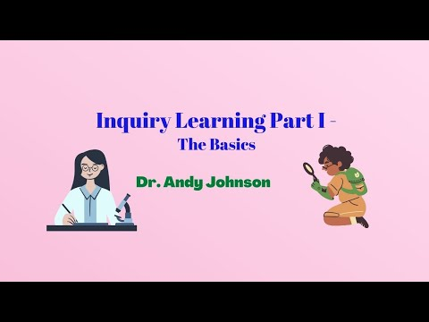 INQUIRY-BASED LEARNING -1: Overview
