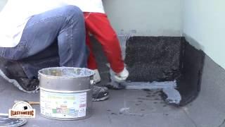 Эластомерик Полиуретановый двухкомпонентный герметик Кровельная мастика(Процесс герметизации швов, примыканий к парапетам (стенам) с помощью двухкомпонентного полиуретанового..., 2015-03-02T19:46:05.000Z)