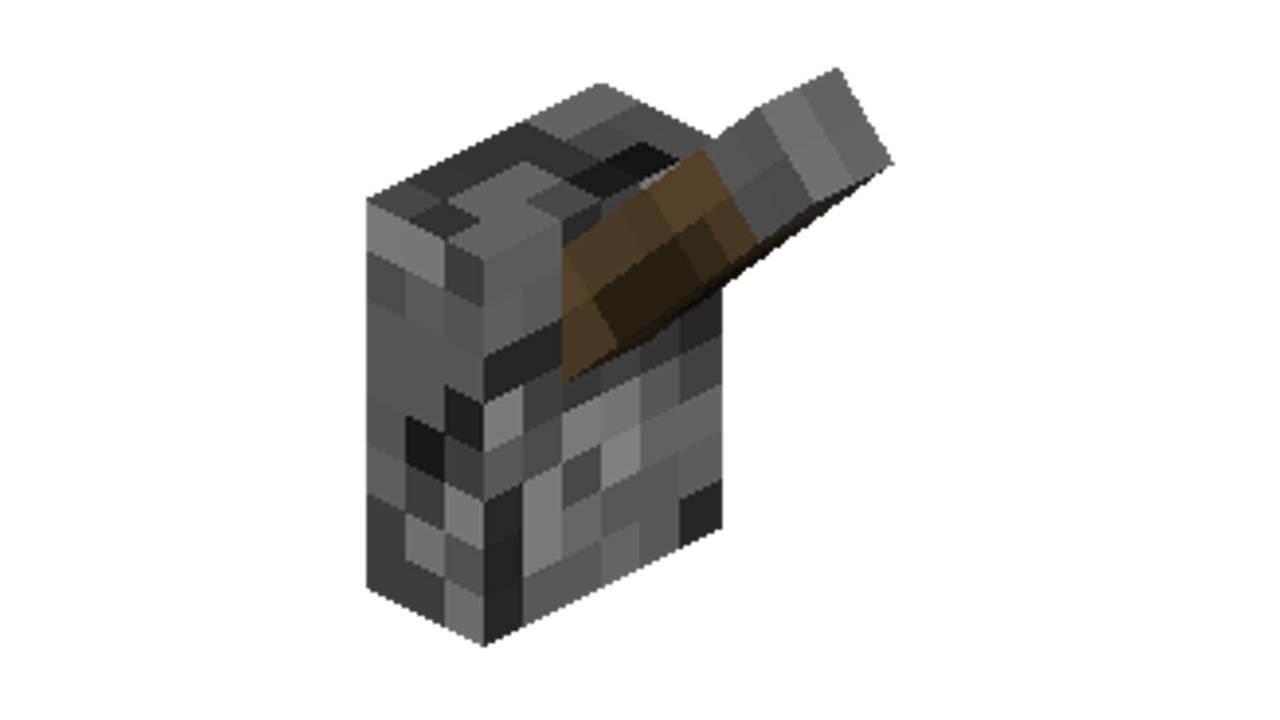 minecraft how to craft a lever youtube