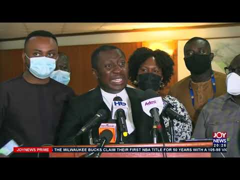 Minority accuses Fin. Min. of cover-up after he failed to give details of trips -  Joy News(21-7-21)